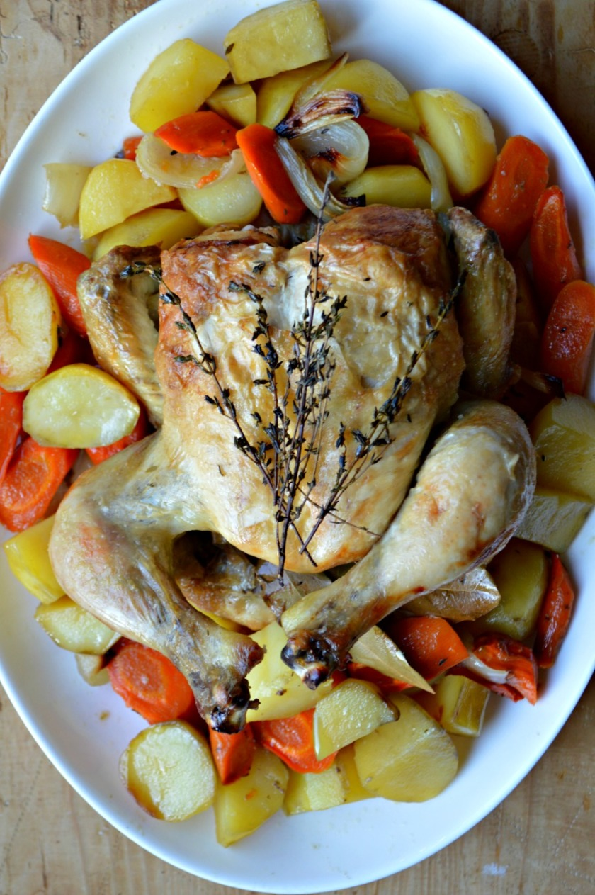 Bundt Pan Roasted Chicken For The Love Of Italian Cooking