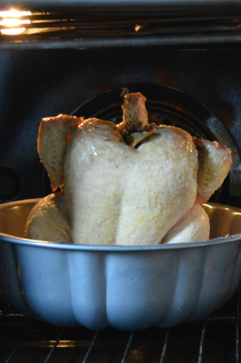 Lopsided chicken