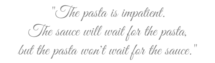 Pasquale Carpino's Pasta Quote ...